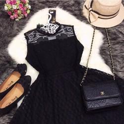 Đầm ren cao cấp hàng Quảng Châu