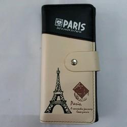 VÍ CẦM TAY HỌA TIẾT PARIS