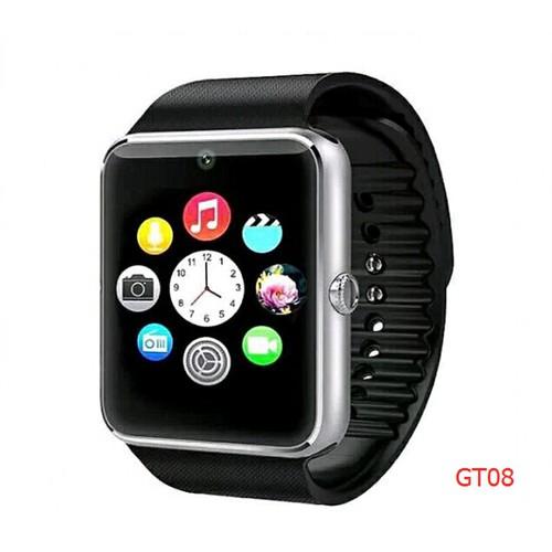 đồng hồ thông minh gt08 den - 4143583 , 4798837 , 15_4798837 , 198000 , dong-ho-thong-minh-gt08-den-15_4798837 , sendo.vn , đồng hồ thông minh gt08 den