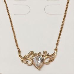Mặt dây chuyền cánh thiên thần mạ vàng