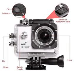 Camera hành trình chống nước U9 FULL HD 1080P trắng