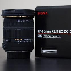 ống kính Sigma 17-50mm f2.8 For Canon BH 1 năm tặng 2 vòng đeo len