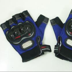 găng tay hở ngón Probike chống thấm nước, xanh hoặc đỏ