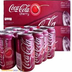 Nước ngọt Mỹ coca cherry 355ml -  thùng 12 lon