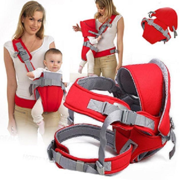 Địu em bé Baby Carrier 6 tư thế cao cấp 1