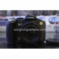 Canon PowerShot S5 IS qua sử dụng