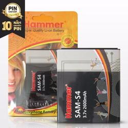 Pin Galaxy S4 I9500 Hiệu Hammer dung lượng 2600mAh