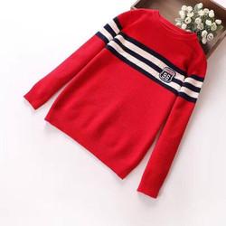 Áo len lông cừu gắn logo số 96 cho bé trai
