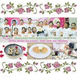 Khóa học Bánh Việt - Á - Âu chuyên nghiệp