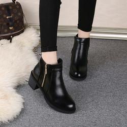 boot cao cổ nữ khoá đồng