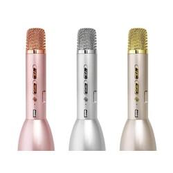 micro karaoke kiêm loa Bluetooth k088 vàng