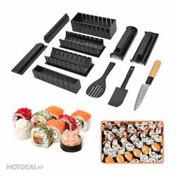 Bộ Dụng Cụ Làm Sushi 11 Món Kèm Dao Tiện Lợi
