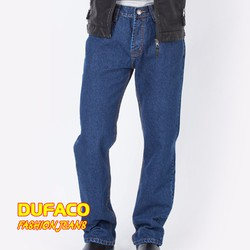 Quần Jeans nam Duy Phát màu xanh jeans
