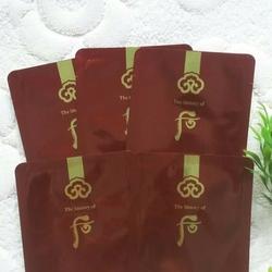 Combo 5 gói Whoo Contouring Massage Mask - Mặt nạ massage whoo đỏ