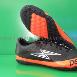 Giày đá banh nam cam đen