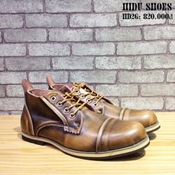 Giày Da Buộc Dây HIDU SHOES HD26