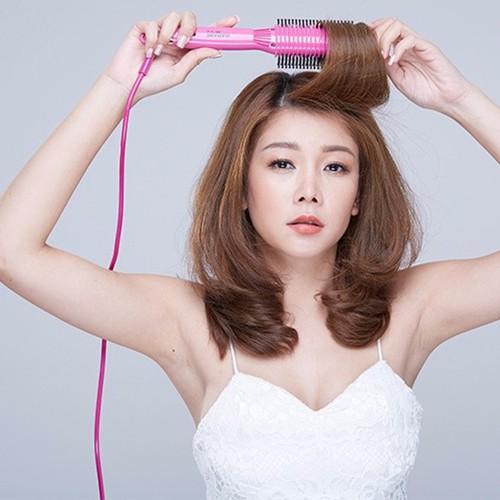 lược điện uốn tóc Nova