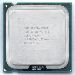 CPU E8400 CORE 2 DUO SK775