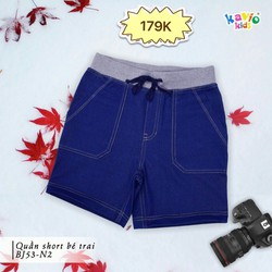 Quần short jeans bé trai 24-50kg sz12,14