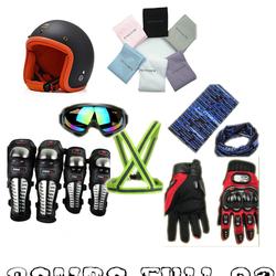 Combo nón bảo hiểm phượt Full 02