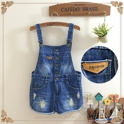Yếm Short Jean 5 Nút 106