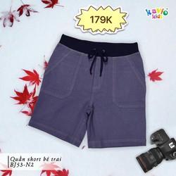 Quần short jeans bé trai 24-50kg sz12,14,16