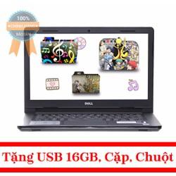 Laptop Dell Inspiron 14 3467 i5-7200U-4GB-1TB - Đen
