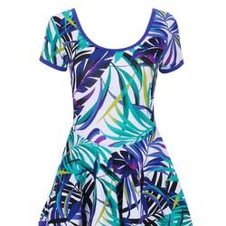 Đầm bơi cao cấp một mảnh phối váy L870