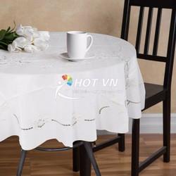 Khăn trải bàn tròn sản phẩm Tablecloths Round 152cm