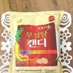 Kẹo hồng sâm không đường Hàn Quốc gói 500g