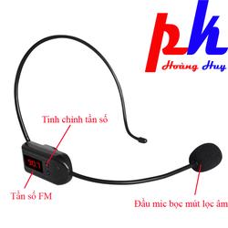 Micro không dây FM | Micro loa trợ giảng không dây