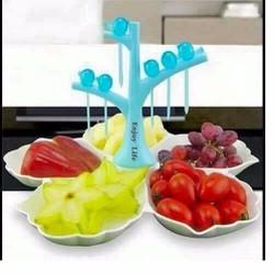 Đĩa hoa quả chưng tết và party đa năng siêu rẻ