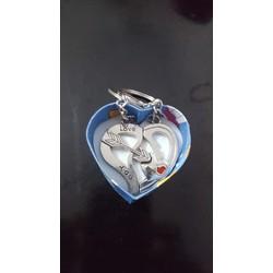 Móc khóa cặp Valentine kèm hộp quà tặng