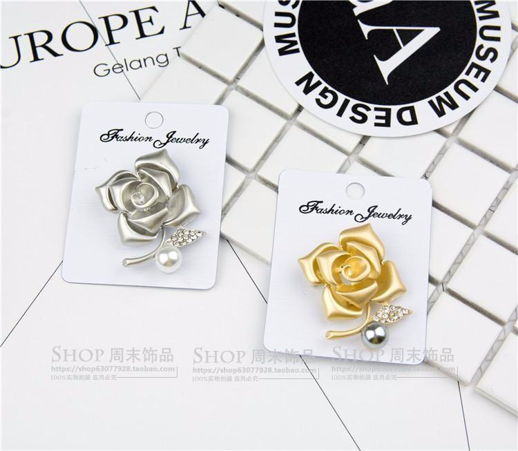 Cài áo hoa hồng CA10 7