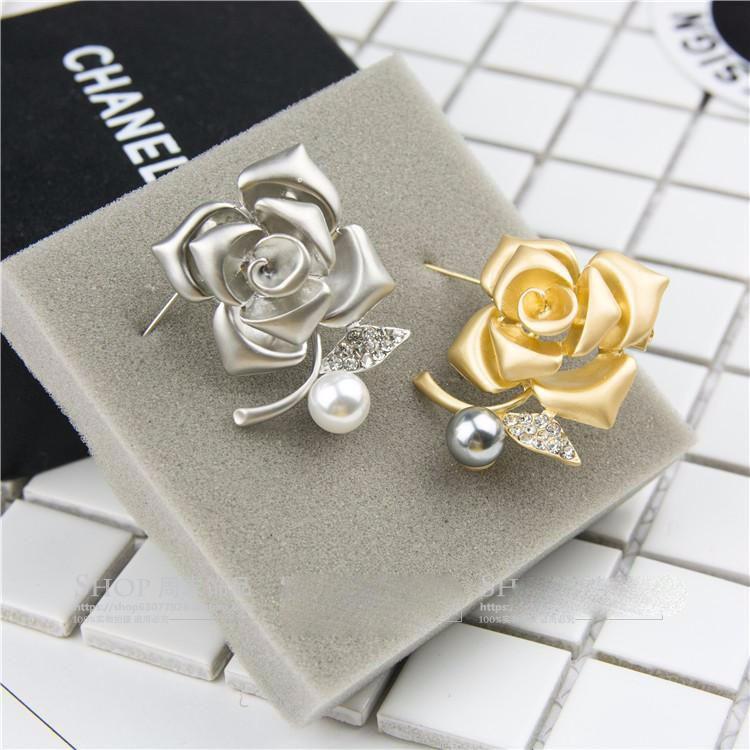 Cài áo hoa hồng CA10 4