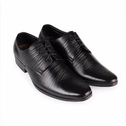 Giày tây da bò cột dây Hùng Cường HC1035