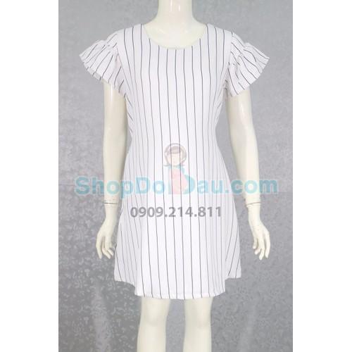 Đầm bầu cổ tròn - thun HQ