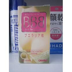 Viên uống nở ngực BBB của Nhật