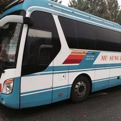 Xe Universe Express Noble 2010 màu xanh trắng nhập nguyên chiếc