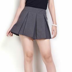Váy quần xếp ly xinh xắn