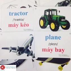 Flashcard tiếng Anh cho bé KatchUp - Chủ đề Giao Thông