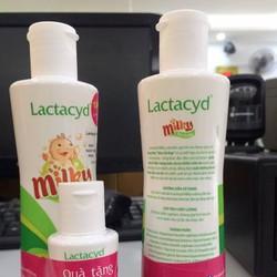 Sữa tắm gội cho bé Lactacyd Milky kèm quà tặng