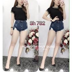 Quần jean short size S, M, L - A28673