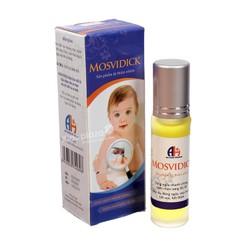 Mosvidick - Thuốc trị muỗi đốt, xẹp mụn, hết sẹo, hết thâm