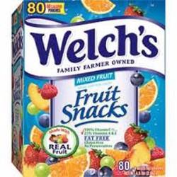 Kẹo trái cây Welch hộp 80 gói Mỹ
