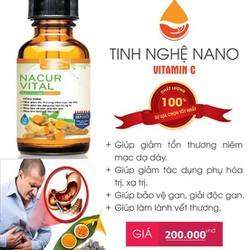 TINH NGHỆ NANO – NACUR VITAL
