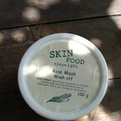Mặt nạ cám gạo Rice Mask Wash Off Skinfood