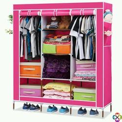 Thanh lý tủ vải 3 buồng 8 ngăn