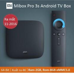 MIBOX PRO 3S TV Bản Tiếng Tàu