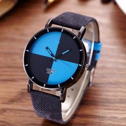 Đồng hồ nam QF dây da thời trang DSA697